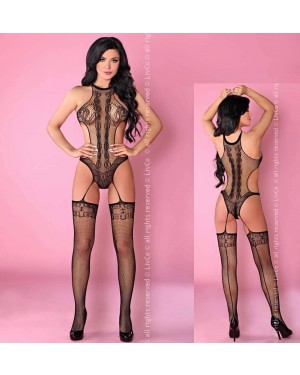 Bodystocking Livco Manoella, črn