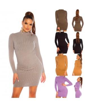 Pletena haljina, tunika Joannie, više boja