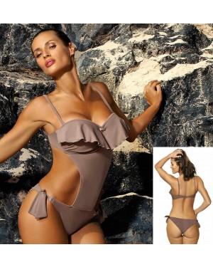Jednodijelni kupaći kostim, monokini Marko Carmen Tripoli, kapučino