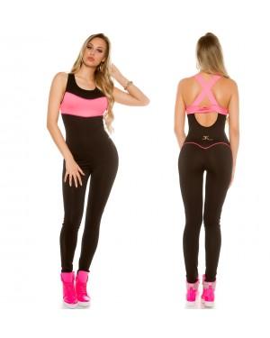 črno/pink