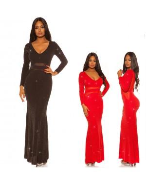 Svečana haljina, duga haljina Trinity, više boja
